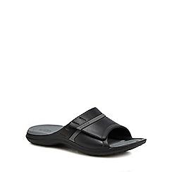 Crocs - Black 'Modi' sandals