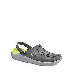 Crocs - Grey 'LiteRide' sandals