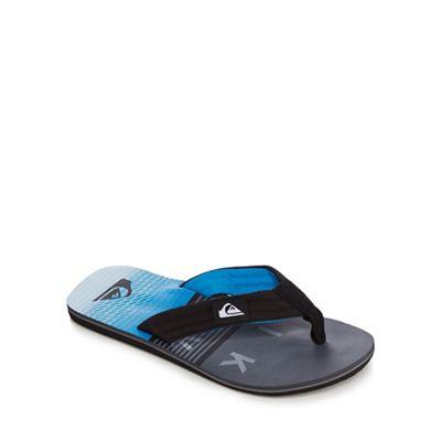 Quiksilver - Black 'Molokai Laybass' flip flops