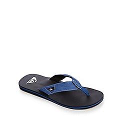 Quiksilver - Blue 'Molokai Abyss' flip flops