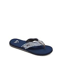 Quiksilver - Blue 'Monkey Abyss' flip flops