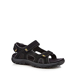 Caterpillar - Black 'Giles' walking sandals