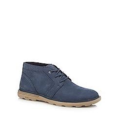 Caterpillar - Navy nubuck 'Murphy' chukka boots