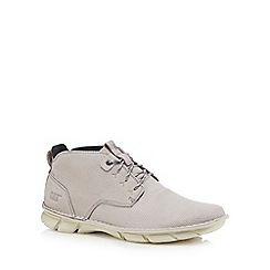 Caterpillar - Light grey 'Almanac' lace up boots