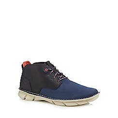Caterpillar - Blue 'Almanac' lace up boots