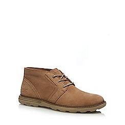 Caterpillar - Natural suede 'Murphy' chukka boots