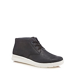 Caterpillar - Navy nubuck 'Theorem' chukka boots