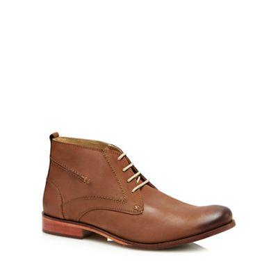 Lotus Since 1759 - Tan leather 'Balfour' chukka boots