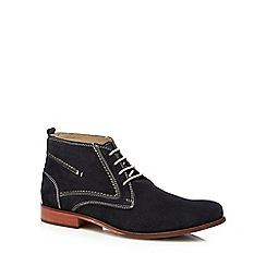 Lotus Since 1759 - Navy suede 'Balfour' chukka boots