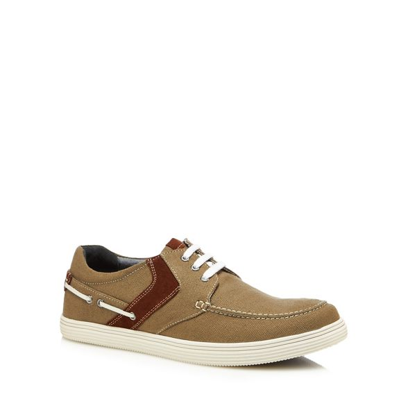Khaki up Since Lotus 1759 shoes canvas lace 'Gladstone' EF4THRqw