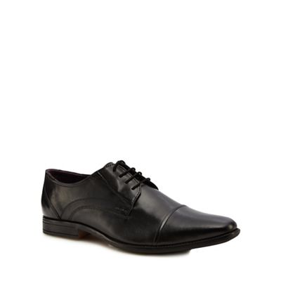 Lotus Since 1759 - Black leather 'Swinford' lace up shoes