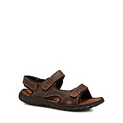 Lotus Since 1759 - Brown leather 'Quigley' sandals