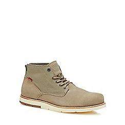 Levi's - Natural suede 'Jax' chukka boots