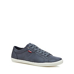 Levi's - Blue 'Wood' lace up trainers
