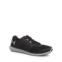 Under Armour - Black 'Fuse' trainers