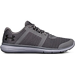 Under Armour - Grey 'UA Fuse FST' running shoes