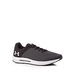 Under Armour - Black 'UA Micro G® Pursuit' running shoes