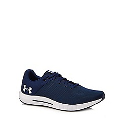 Under Armour - Navy 'Pursuit' trainers