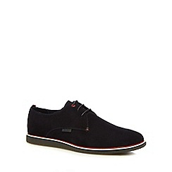 Ben Sherman - Navy suede 'Grant' lace up shoes