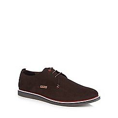 Ben Sherman - Brown suede 'Grant' lace up shoes
