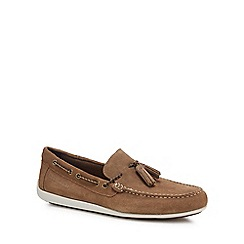 Rockport - Tan suede 'Bennett Lane 4' loafers