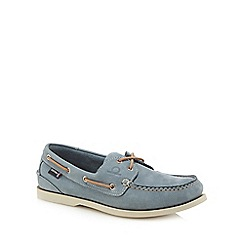 Chatham Marine - Light blue suede 'Compass II G2' boat shoes