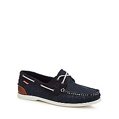 Chatham Marine - Navy 'Galley II' boat shoes