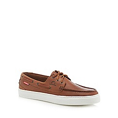 Chatham Marine - Brown leather 'Elba' boat shoes