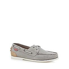 Chatham Marine - Grey suede 'Galley II' boat shoes