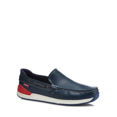Chatham Marine - Navy leather 'Archer' loafers