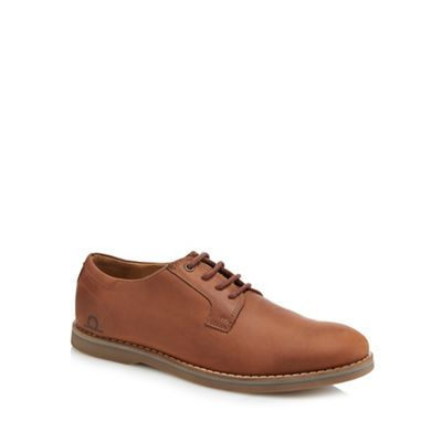 Chatham Marine - Tan leather 'Nevis' lace up shoes