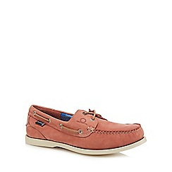 Chatham Marine - Pink suede 'Compass II G2' boat shoes