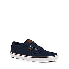 Vans - Blue grey 'Atwood' lace up trainers