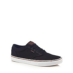 Vans - Navy blue 'Atwood' lace up trainers