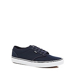 Vans - Navy 'Atwood' lace up trainers