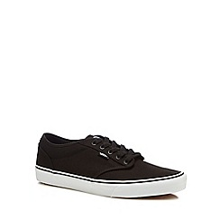 Vans - Black 'Atwood' canvas trainers
