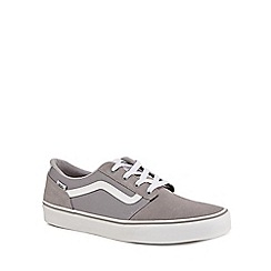 Vans - Grey 'Chapman' lace up trainers