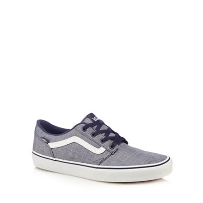 Vans - Blue 'Chapman' lace up trainers