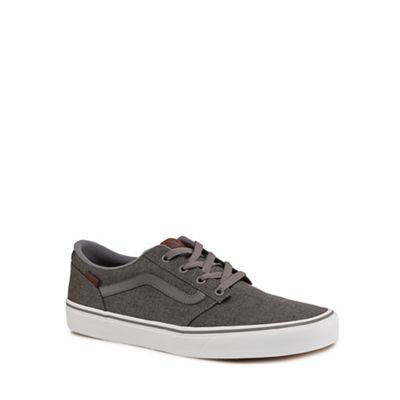 Vans - Dark grey 'Chapman' lace up trainers