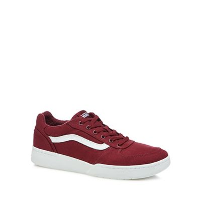 Vans - Red canvas 'Knoll' trainers