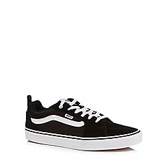 Vans - Black 'Filmore' lace up trainers