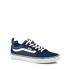 Vans - Navy 'Filmore' lace up trainers
