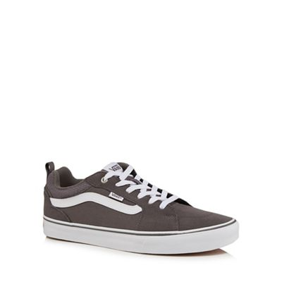 Vans - Grey 'Filmore' lace up trainers