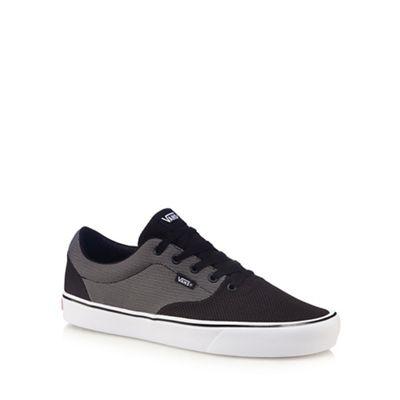 Vans - Dark grey 'Lautner Lite' lace up trainers