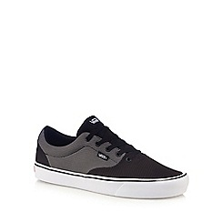 Vans - Dark grey 'Lautner Lite' lace up trainers