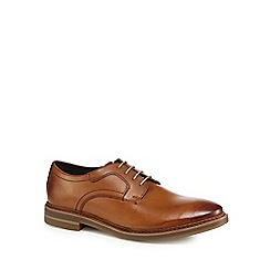 Base London - Tan leather 'Spencer' lace-up shoes