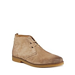Base London - Taupe suede 'Perry' chukka boots