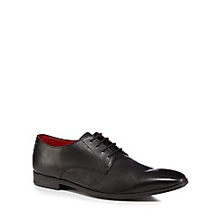 Base London - Black leather 'Shilling' Derby shoes