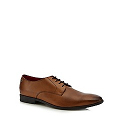 Base London - Tan leather 'Shilling' Derby shoes
