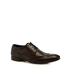 Base London - Dark brown leather 'Purcell' brogues